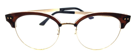 New Piovino Metal and Ultem Frame Super Light, Flexible, PV S-3001 Gold brown