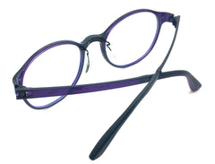 Prescription Eyeglasses Frame Super Light, Flexible PV 3002 C40 Ultem Frame