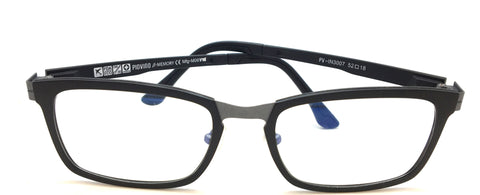 New Piovino Prescription Eyeglasses Soltax Hybrid Metal and Ultem PV 3007 Black&Gray