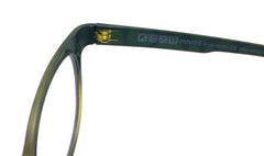 Piovino Eyeglasses Rxable Frame Super Light, Flexible, Ultem Frame 3009 C29G