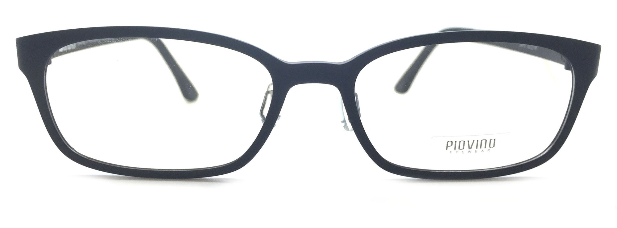 Piovino Prescription Eyeglasses Frame Super Light, Flexible, Ultem PV 3010 Black