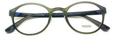 Prescription Eyeglasses Frame Super Light, Flexible, Ultem Piovino 3012 C5