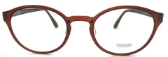 Piovino Eyeglasses Rxable Frame Super Light, Flexible, PV 3018 C3 Ultem Frame
