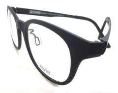 Piovino Eyeglasses Frame Super Light, Flexible, Tough Ultem Frame IN 3023 Black