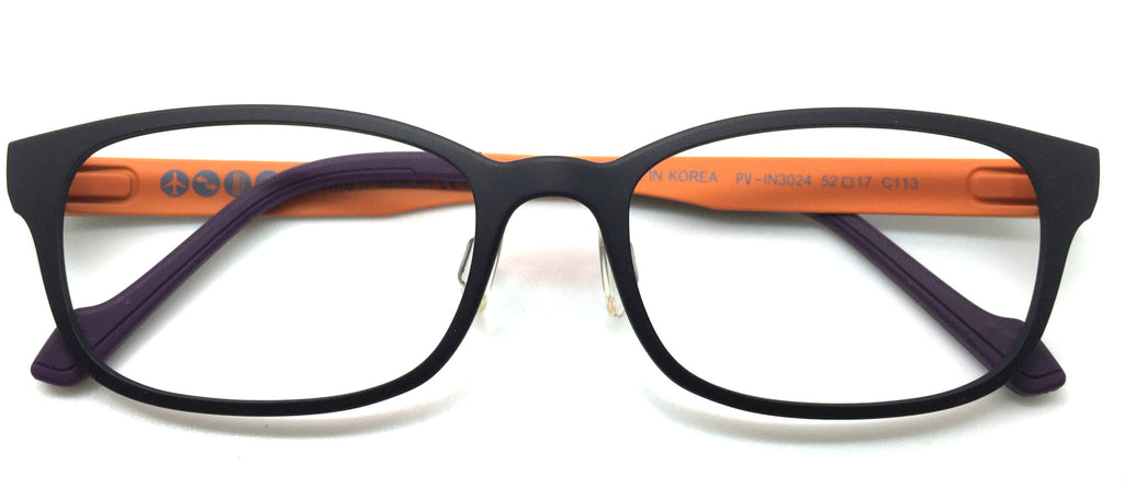 Piovino Eyeglasses Frame Super Light, Flexible Ultem Frame PV 3024 C113
