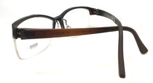 Prescription Eyeglasses Frame Super Light, Flexible PV 3027 C98 Half Ultem Frame