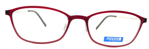 Piovino Eyeglasses Prescription Frame 3074 C10 Rxable Titanium Frame