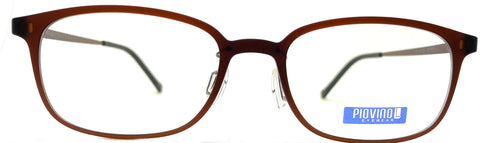 Piovino Eyeglasses Prescription Frame 3082 C22 Rxable Titanium Frame