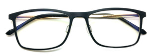 Piovino Eyeglasses Prescription Frame 3083 C13 Rxable Titanium Frame