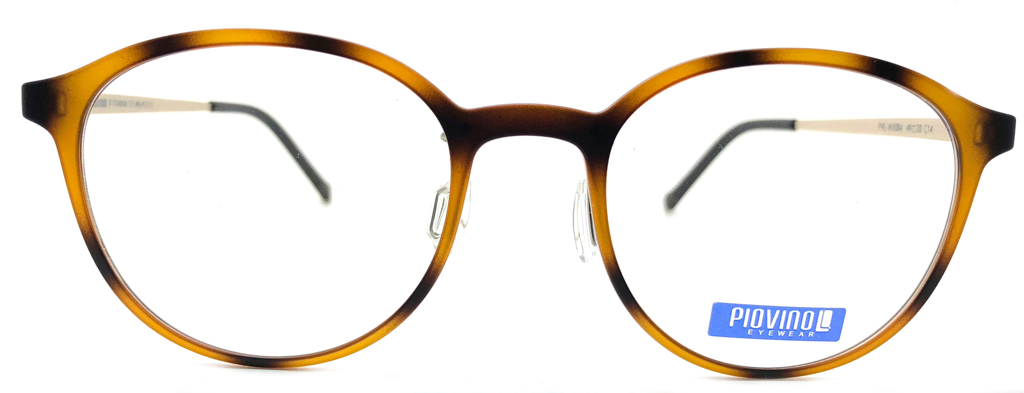 Piovino Eyeglasses Prescription Frame 3084 C14 Rxable Titanium Frame