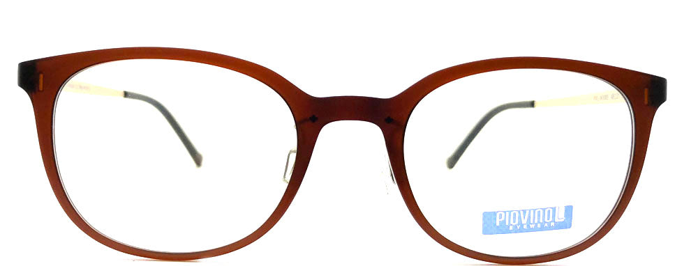 Piovino Eyeglasses Prescription Frame 3085 C4 Rxable Titanium Frame