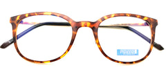 Piovino Eyeglasses Prescription Frame 3085 C5 Rxable Titanium Frame