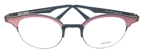 Prescription Eyeglasses Soltax Hybrid Metal and Ultem PV 5605 0910M  Wine Black