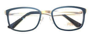 Prescription Eyeglasses Soltax Hybrid Metal and Ultem PV 5606 1610M Blue&Gold