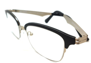 Piovino Prescription Eyeglasses Soltax Hybrid Metal and Ultem PV 5608 0914M