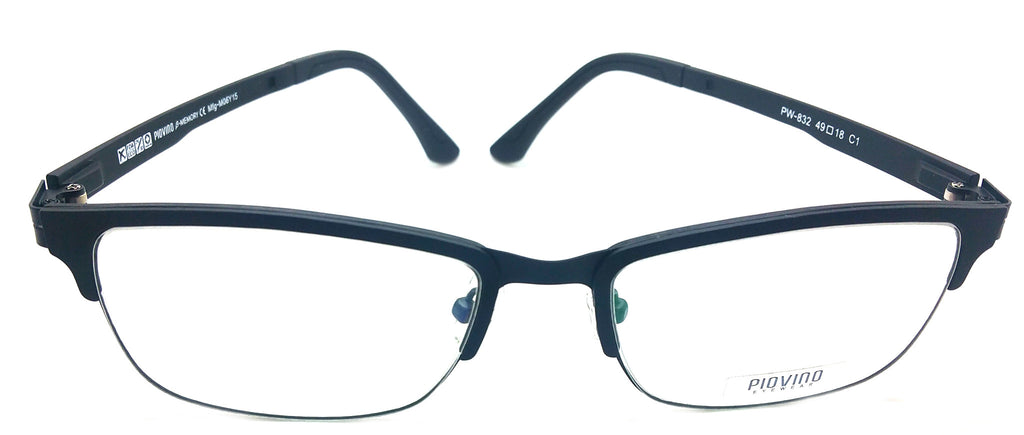 Piovino Eyeglasses Frame Super Light, Flexible PW-832 C1 Ultem Frame