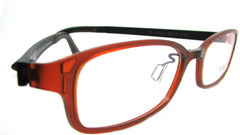 Piovino Eyeglasses Frame Super Light, Flexible, Tough Ultem Frame IN 3008 C38