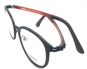 Piovino Eyeglasses Frame Super Light, Flexible PW-888 C1 Ultem Frame