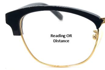 Single Vision (Reading OR Distance)