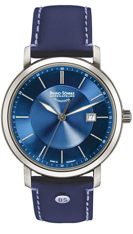 Bruno Sohnle Legato 17-13138-341 Blue Quartz Watch