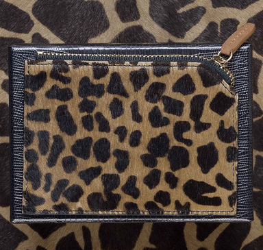 March Lab Card Holder Zipper Savane