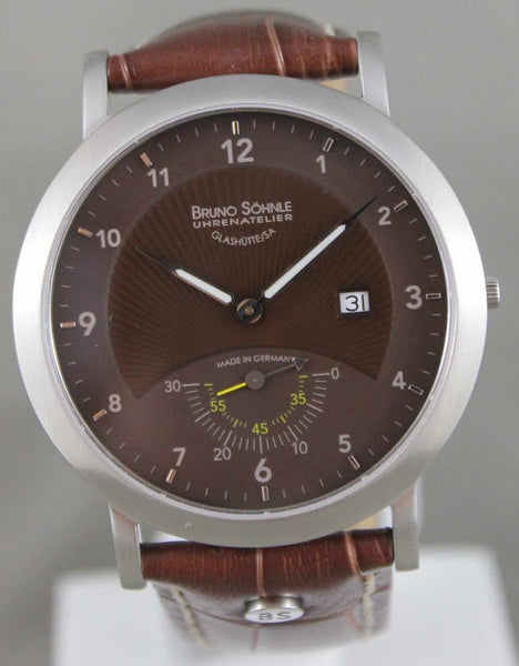 Bruno Sohnle Ares Mens Quartz Watch Glashutte