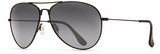 Maui Jim Mavericks Black Gloss Aviator