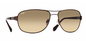 Maui Jim Sand Island Gloss Dark Brown Sunglasses