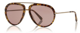 Tom Ford Stacy TF452 Sunglasses Light Tort / Pink