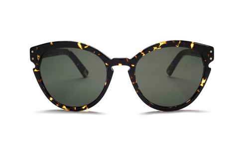 Ahlem Menilmontant Yellow Turtle Cats-Eye Sunglass