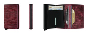 Secrid Slim Wallet Dutch Martin Bordeaux