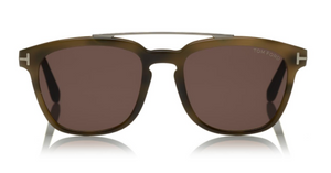 Tom Ford Holt TF516 Olive Sunglasses Italian Made
