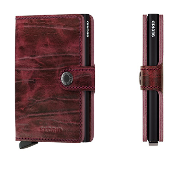 Secrid Mini Wallet Dutch Martin Bordeaux