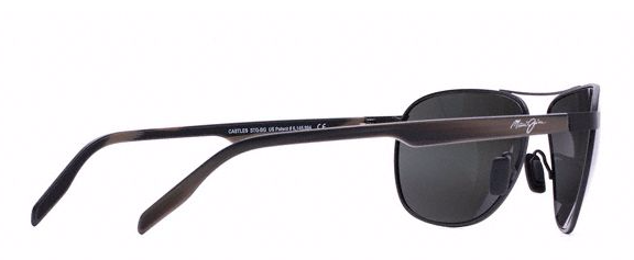 Maui Jim Castles Matte Black Sunglasses