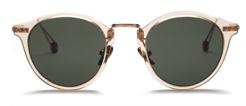 Ahlem Gare Du Nord Champlight Rose Gold Sunglasses