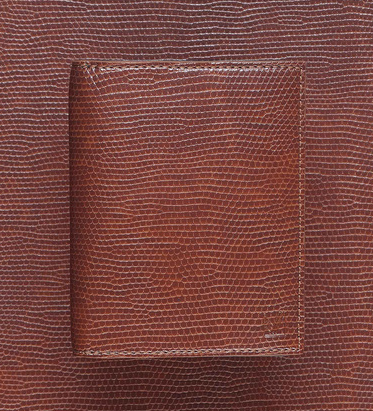 March La.b Small Wallet Iguana Brown