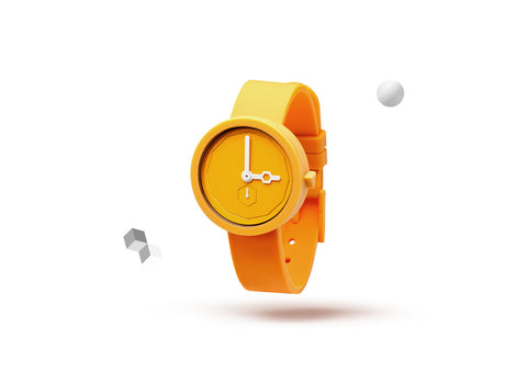 Aark Collective Classic Yolk Watch