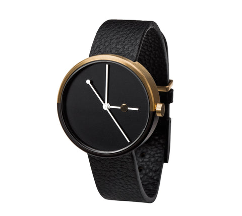 Aark Collective Eclipse Gold Watch