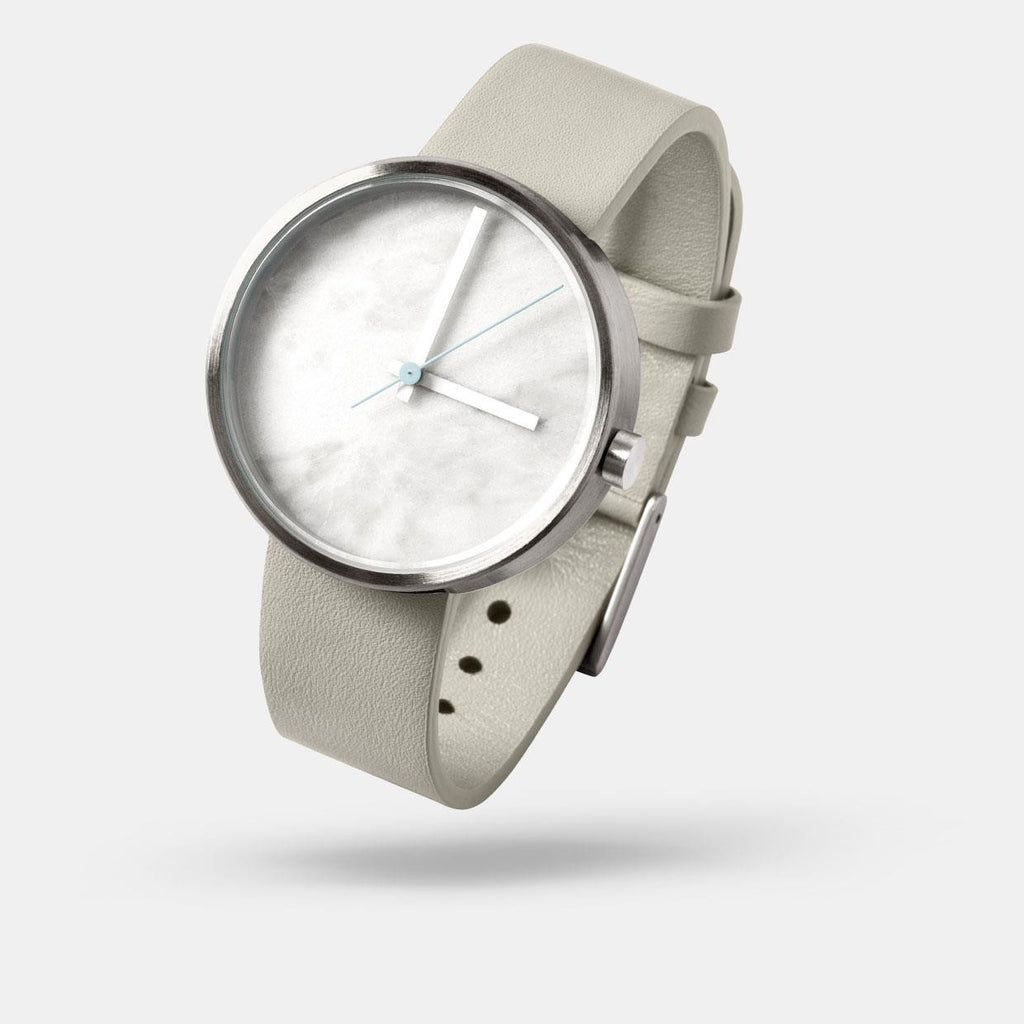 Aark Collective Marble Carrara Watch