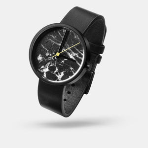 Aark Collective Marble Nero Watch
