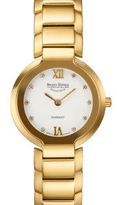 Bruno Sohnle Allegro 17-33077-932 Gold Diamonds
