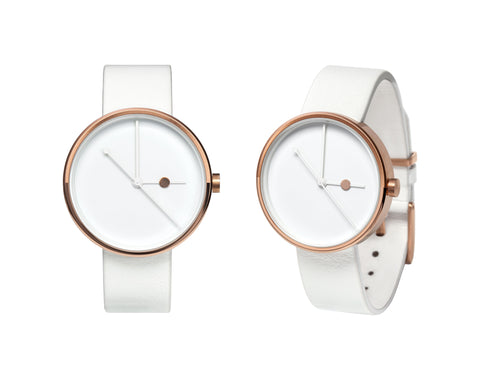 Aark Collective Eclipse Rose Gold Watch