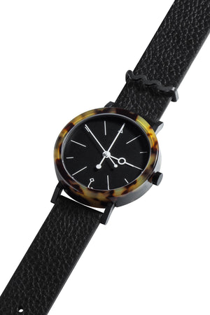 Aark Collective Shell Brown Watch