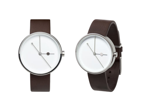 Aark Collective Eclipse Silver Watch