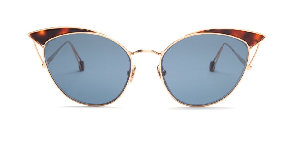 Ahlem Violet Rose Gold Sunglasses French Made