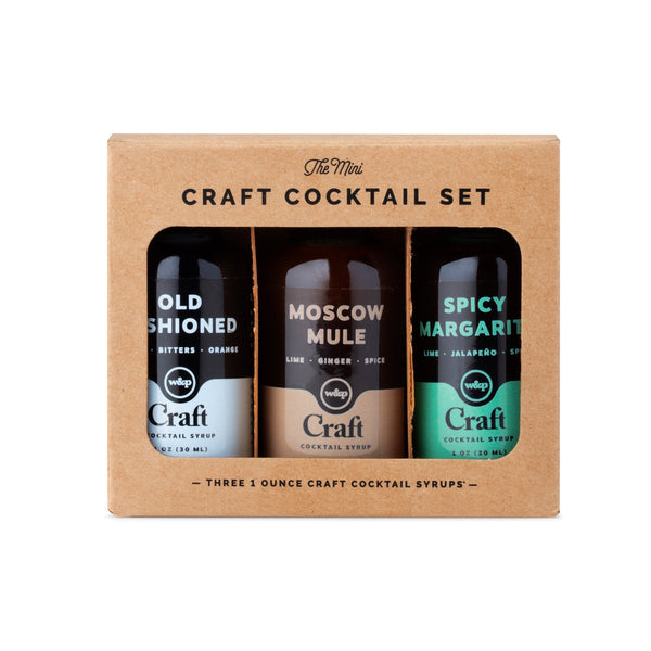 Mini Cocktail Syrup 3-Pack -  ShopatGrace.com