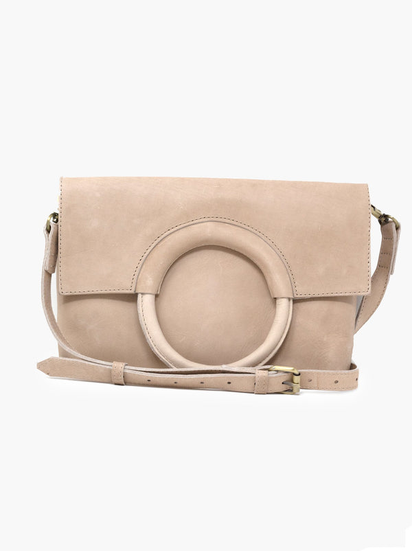 Fozi Leather Ring Crossbody Bag -  ShopatGrace.com