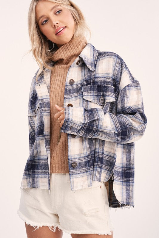 Anneli Shirt Jacket -  ShopatGrace.com