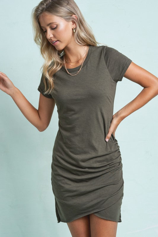 Only Ruched Mini Dress -  ShopatGrace.com