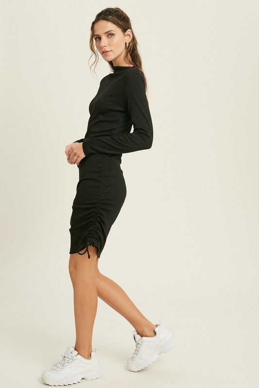 Ruched Bodycon Dress -  ShopatGrace.com